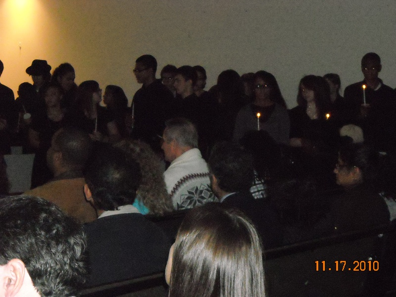 National Honor Society Induction of ALA President and Founder, Robert M. Evans, at Lehigh Valley Academy